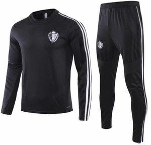 2019 2020 Бельгия survetement куртка спортивный костюм футбол Джерси костюмы 19 20 Бельгия костюм DE Bruyne набор футбол куртка спортивный костюм