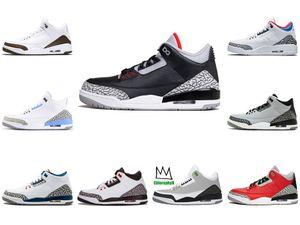 Moda 3 6 11 13 Denim Travis Mens Basketball Shoes Blue Jeans 3S 3S 3S Sneakers Designer Jumpman allenatori sportivi Uomini Des Chaussures # 969