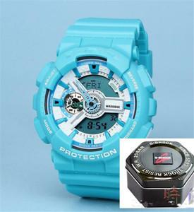 Bekannte neue G110 militärischer Einfluss Marke Stundenzeiger LED-Anzeige Zeitsport neue Uhr männliche wasserdichte Silikon-Uhr Camping