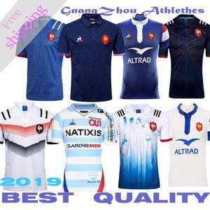 Лучшее качество France Super Rugby Jerseys Франция Регби Французская рубашка регби размер S-3XL