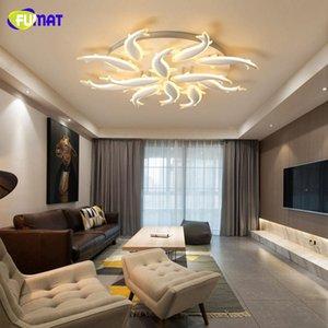 Fumat Modern Led Ceiling Light Led Ceiling Lamp Acrylic Fish Light For Living Room Bedroom Kitchen Home Lighting For Children