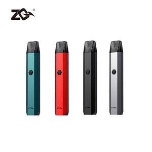 Preço na fábrica ZQ Xtal Kit botão ou auto-draw Vape Pen dispositivos com 1,2 ohm Ni-cromo Xtal vagens fabricadas por Eigate