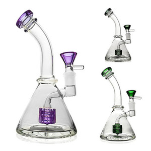 Thick Glass Water Beaker Rig Bong Heady Bongs Water Pipe Oil Rigs Wax Smoking Hookah Bubbler Pipes Quartz Banger Smoking Accessories