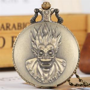 Punk Cool Monkey King Дизайн Кварцевые Бронзовые Карманные Часы Старинные Ожерелья Цепи Сувенирные Подвесные Часы Подарки для Мужчин, Женщин, Детей