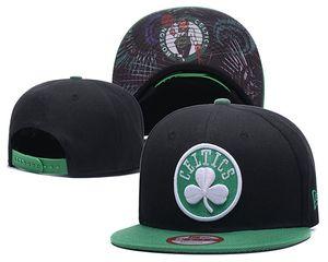 Sport Fan Todos Equipe Boston homens clássico Snapback Sports celtics Plano viseira ajustável One Size Caps Equipado para a maioria Out Door óssea