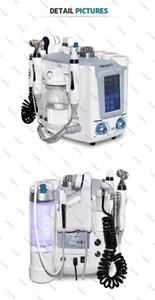 Microdermoabrasão Hidro máquina Facial Hydra dermoabrasão 6 em 1 Rosto profunda Cleanser Cuidados com a pele Multifuncional Facial Spa equipamentos CE / DHL