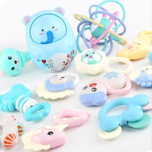 Newborn baby toys 0-1 years old baby rattles educational early childhood preschool ensemble hand bell ringing