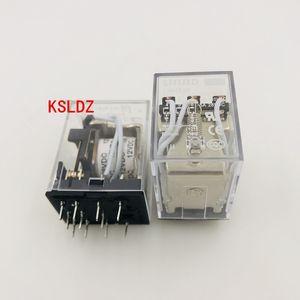 Free shipping lot (5 pieces lot) original New LHH53P-12VDC 5A250VAC 11PINS Power Relay