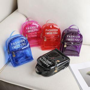 2020 Mini Zaino Donne PVC Borsa a tracolla Per Ragazze adolescenti Kids Fashion New Small Bagpack femminile signore zaino della scuola Candy