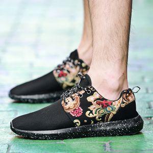 Calzado casual OLOMM tamaño grande de Tendencia hombres al aire respirable cómodo Los hombres forman las zapatillas de deporte antideslizante de goma de la venta caliente de los hombres Zapatos