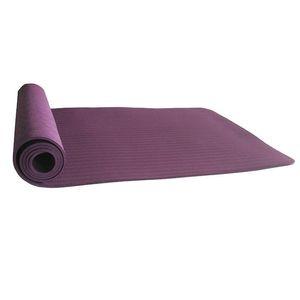 Estera de yoga antideslizante de 6 mm Tpe adecuada para la aptitud Estera deportiva sin sabor Bolsa de yoga Cinturón