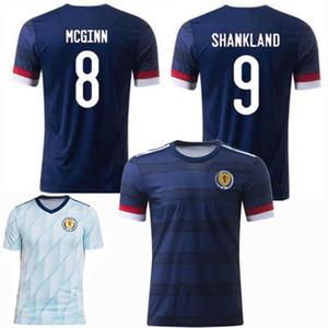 20 21 Scotland maillots de foot soccer jersey euro national team SHANKLAND MCGINN home away 2020 2021 футбол мужчины и дети рубашка