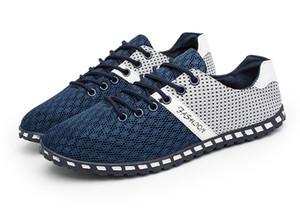 Большой Размер 46 Мода Дешевые 2019 Новые Мужчины Повседневная Обувь Смешанные Цвета Весна Мужская Резиновая Дышащая Обувь