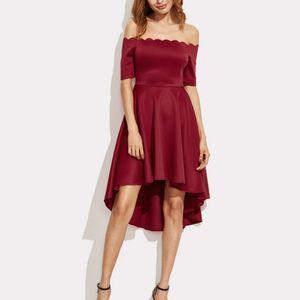 Женское платье с открытыми плечами элегантное офисное Женское рабочее платье 2019 модное летнее женское платье