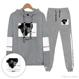 Nipsey Hussle Mens Tracksuits Spring Autumn Casual Clothing Sets Women Teenager Hoodies Pants 2pcs Suits