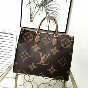 venda moda barata 2020 luxurys quentes bolsa de couro desenhistas da bolsa saco de senhoras mensageiro topo Popular das mulheres marcas Totes 41CM