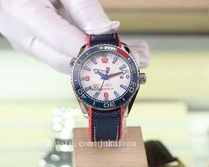 2020 high quality james bond 007 watches planet ocean Wristwatch aqua terra sea master watchesseamaster00 mens watch D4101