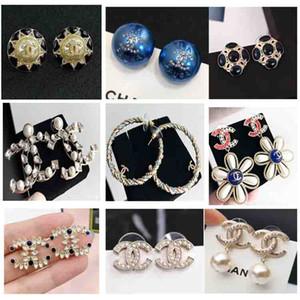 2020 gros article Boucles d'oreilles pendantes avec le diamant de couleur en deux paires pour les femmes bijoux de mariage Boucle d'oreille goutte charme cadeau expédition PS5685A