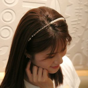 Rhinestone Pérola Super fada Headband Faixa de Cabelo online Alice Banda Cerchietto aliceband Hair Style Mulheres wWKHB