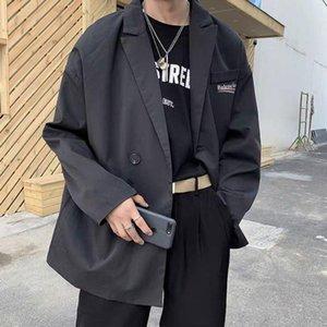 2020 men suits luxury classic work designer Blazers High-end oversized Double-layer fabric design composite fabric versatile coats female