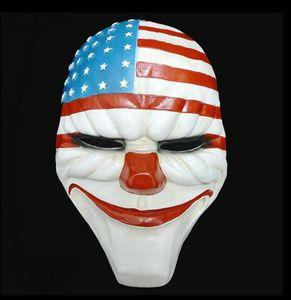 Erntetag Maske Spiel Mask Dance Party Clown lustige Requisiten Halloween Horror Maske WL1066