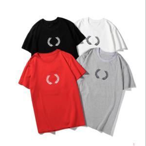 Erkek Tasarımcı T Gömlek Yaz Marka Harf Baskılı Klasik Tshirts Lüks Katı Renk Tee Erkek Gömlekleri 4 Renk jing9070501 Tops