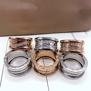 titanium steel love ring men and women rose gold ring for lovers couple ring for Valentine's Day
