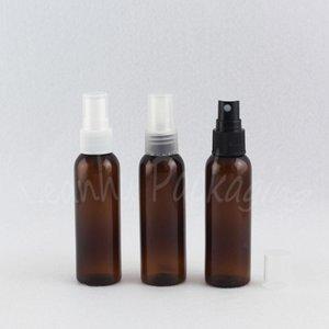 60ML Браун Пластиковые бутылки с распылителем насос, 60cc косметической упаковки бутылки,
