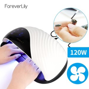 120W UV LED Lamp Nail Machines 42LED Lights Gel Polish Dryer For Salon UV Lamp 10s 30s 60s 99s Timer Smart For Manicure Tools