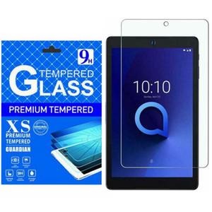 Alcatel Joy Tab 8.0 inç Metro 3T 8 10 Temizle temperli cam Tablet Ekran Koruyucu Anti Çizilmeye Kabarcık Ücretsiz Kağıt Paketi İçin