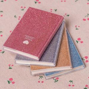 Kreative PVC Notizbuch-Papier Tagebuch Schule Glänzend kühle Kawaii Notizbuch-Papier Agenda Terminplaner Skizzen Geschenk für Kinder