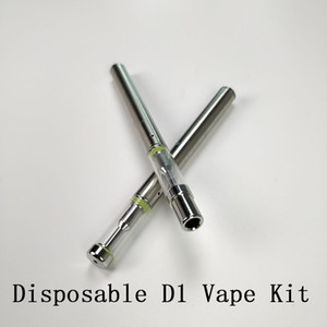 BUD D1 descartável Vape Pen Starter Kit Ceramic 310mAh Battery 0,5 ml Bobina cartucho vazio vaporizador électronique cigarro Para o óleo espesso