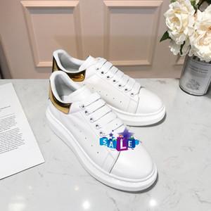 VENTA CALIENTE del diseñador Hombres Mujeres Zapatos casuales de la moda zapatos de plataforma de Smart Formadores Pisos suela gruesa