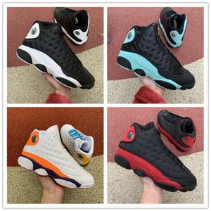 13 Flint Bred Chicago Reverse He got game Auror giochi di pallacanestro degli uomini Scarpe 13s Melo DMP Hyper NakeskinGiordaniaRetro Sneakers