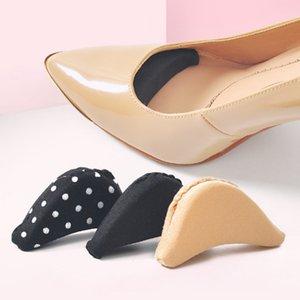 1pair Sponge Forefoot Inserir Toe plug Metade Forefoot Almofada Anti-dor Big Shoes Toe Frente longo Top Filler Shoes Adjustment