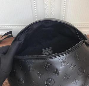 borse vita progettista del cuoio genuino di alta qualità marsupio Marsupio spalla Croce Body Bag DISCOVERY MARSUPIO unisex borse da viaggio lo sport