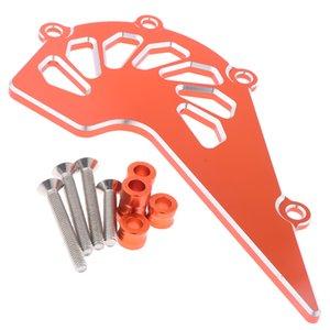 1 pieza Protector de cadena Frente Piñón con Orange superficie para KTM 125 200