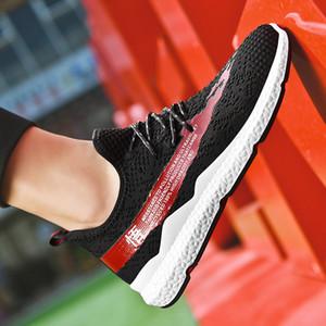 2020 G.N.SHIJIA Moda Top Quality PU borracha Sole Preto Vermelho Mulheres Homens Running Shoes Esporte Tênis