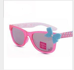 귀여운 나비 넥타이 소녀 색 SUNGLASSES PINK 어린이 선글라스