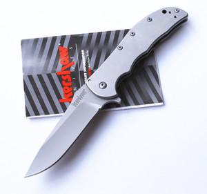 Original Kershaw 3655 Cryo Assisté gris titane tactique Pliant Couteaux 8Cr13Mov 58HRC Camping Chasse Survie Couteaux De Poche Outil Utilitaire
