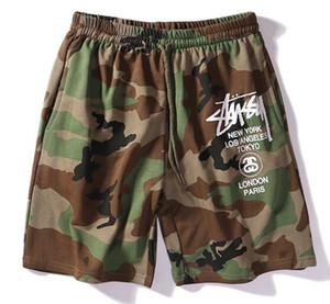 Moda-verão novos homens de alta qualidade praia calções secagem rápida de verão calções de placa de hip-hop calças casuais dos homens