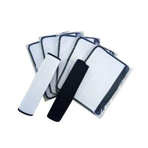 Sublimation Blank Néoprène Car Seat Belt Epaulière Porte-couverture pour impression par transfert thermique bricolage Conception Personnalisée