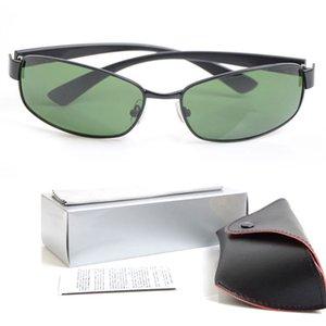 Óculos Brand New com Óculos Design Das Mulheres Originais Óculos de Sol Vidro 10 Pçs Mens Lens 3364 Marca Designer Sunglasses Metal Sol Capas de sol B HTAO
