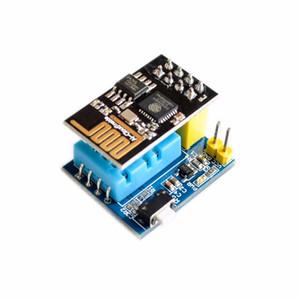 Бесплатная доставка 5 шт. / Лот ESP8266 ESP-01 ESP-01S DHT11 Модуль датчика температуры и влажности esp8266 Wi-Fi NodeMCU Умный дом IOT DIY Kit