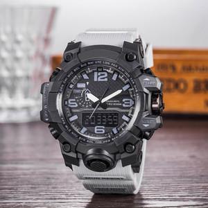 Neue Schock Uhren Marke Luxus Sport Herrenuhr Gummi Sport Armbanduhr Qualität Mode Lässige Männer Uhren G Stil Outdoor Student Watch