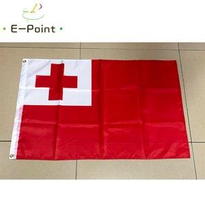 Reino de Tonga Bandeira 3 * 5 pés (90 centímetros * 150 centímetros) de poliéster bandeira decoração voando bandeira jardim casa