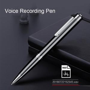 Profesyonel 8GB Uzun zaman Ses Kalem kaydedici Mini Dijital Activited Ses Ses Kaydı Yazma 24st
