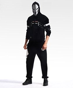 Fashion Hoodie Reaper Black Hooide Cosplay Costume - Deluxe Version