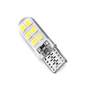 10x 2W 194 W5W T10-2835-12SMD LED COB voiture blanche CANBUS License Plate lumières Lots automobile émettant Ampoule Led lampe diode
