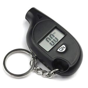 Keychain LCD Digital Tire Tela de pressão Gauge Universal Display LCD Tire Digital Medidor de pressão para o carro Truck bicicleta